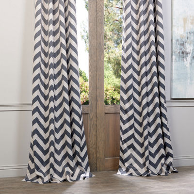Exclusive Fabrics & Furnishing Fez Grommet-Top Blackout Curtain Panel