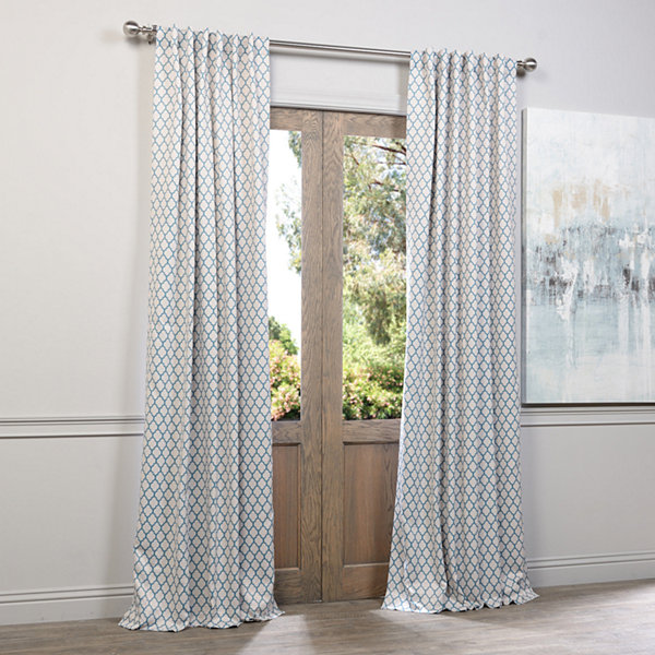 Exclusive Fabrics Furnishing Casablanca Blackout Curtain Panel Jcpenney
