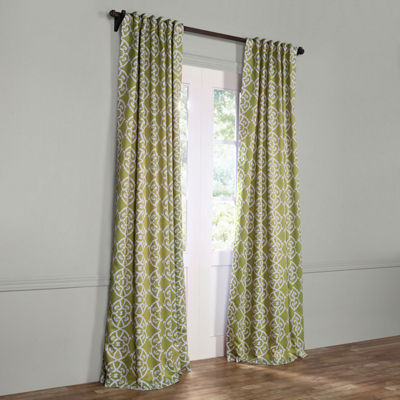 Exclusive Fabrics & Furnishing Secret Garden Blackout Curtain Panel