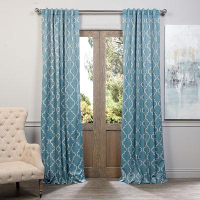 Exclusive Fabrics & Furnishing Seville Blackout Curtain Panel