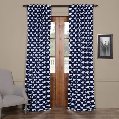 Exclusive Fabrics & Furnishing Migaloo Blackout Curtain Panel