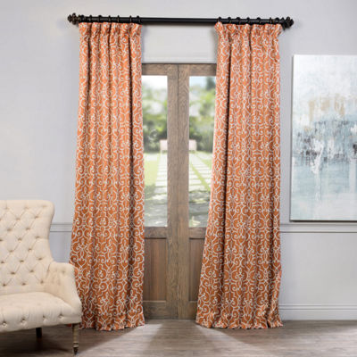 Exclusive Fabrics & Furnishing Nouveau Blackout Curtain Panel