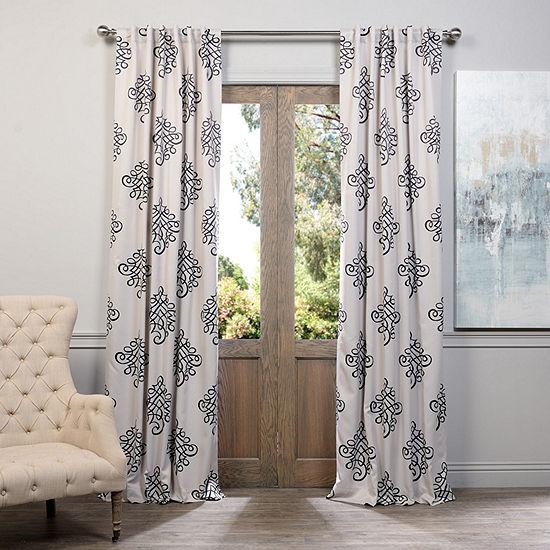 Exclusive Fabrics & Furnishing Tugra Blackout Curtain Panel