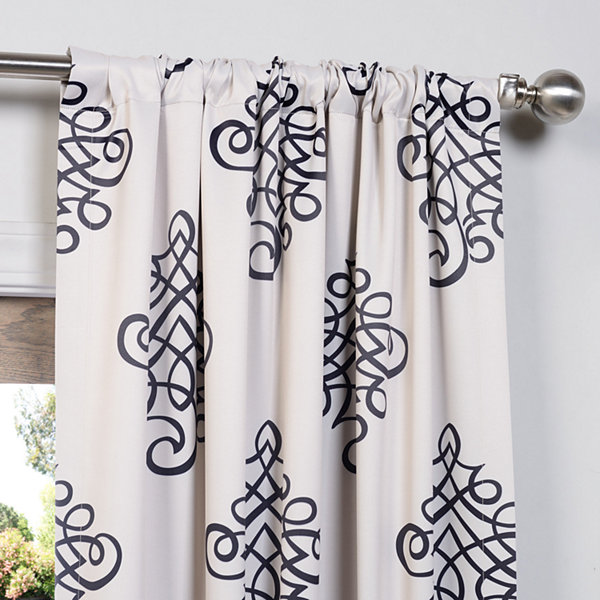 Exclusive Fabrics & Furnishing Tugra Blackout Curtain Panel