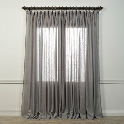 Exclusive Fabrics & Furnishing Signature Extra Wide Sheer Curtain Panel