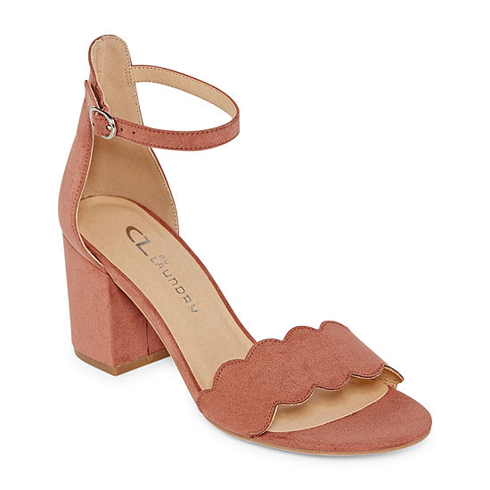 CL by Laundry Womens Jayko Heeled Sandals