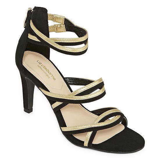 Liz Claiborne Womens Chandra Heeled Sandals Wide Width