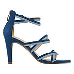 Liz Claiborne Womens Chandra Heeled Sandals