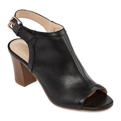 Liz Claiborne Womens Paine Heeled Sandals