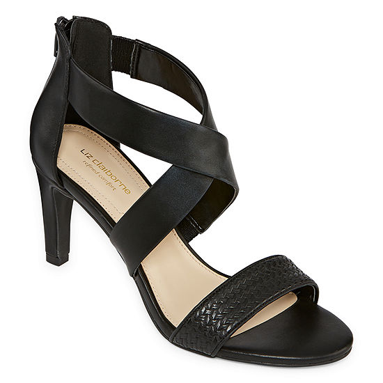 Liz Claiborne Womens Gwynne Heeled Sandals