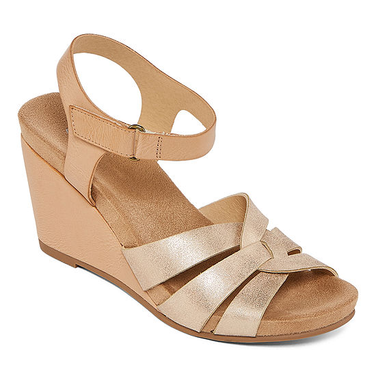 CL by Laundry Womens Tobie Wedge Sandals