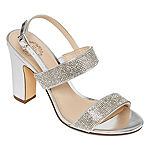 I. Miller Womens Saydee Buckle Open Toe Block Heel Pumps