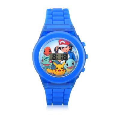 Pokemon Boys Blue Strap Watch-Pok3010jc