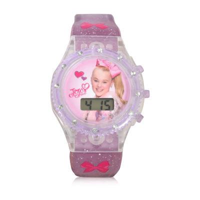 Jojo Siwa Girls Purple Strap Watch-Joj4083jc