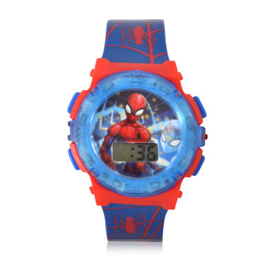Spiderman Unisex Multicolor Strap Watch-Spd40006jc