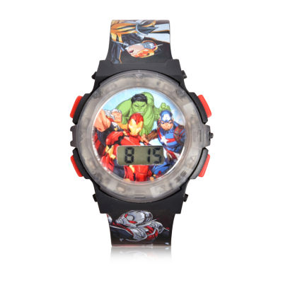 Avengers Unisex Multicolor Strap Watch - Avg40007jc