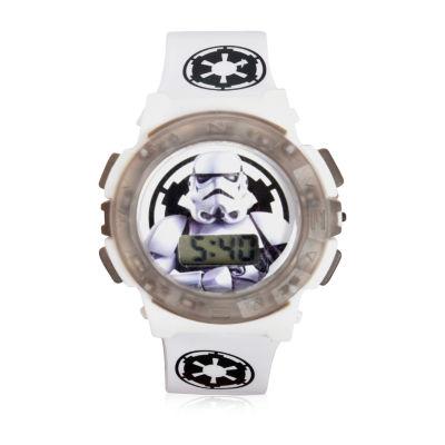 Star Wars Unisex Multicolor Strap Watch-Stm40001jc