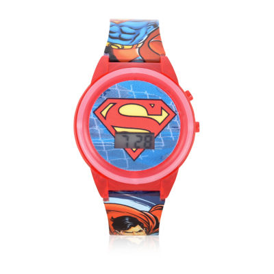 DC Comics Unisex Multicolor Strap Watch-Sup4310jc