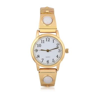Mixit Expansion Womens Gold Tone Bangle Watch-Wac2045jc
