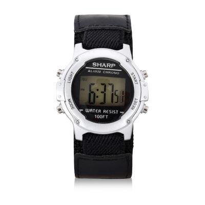 Auguste Jaccard Sharp Unisex Black Strap Watch-Shr3020jc