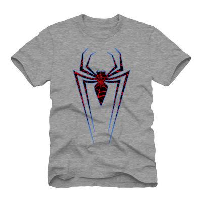 Mens Spiderman Graphic Tee