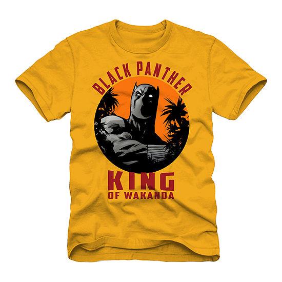 Mens Black Panther Graphic T-Shirt