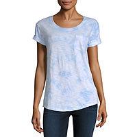 A.N.A Womens Round Neck Short Sleeve T-Shirt Deals