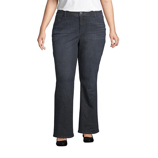 Liz Claiborne Flexi Fit Bootcut Pant- Plus