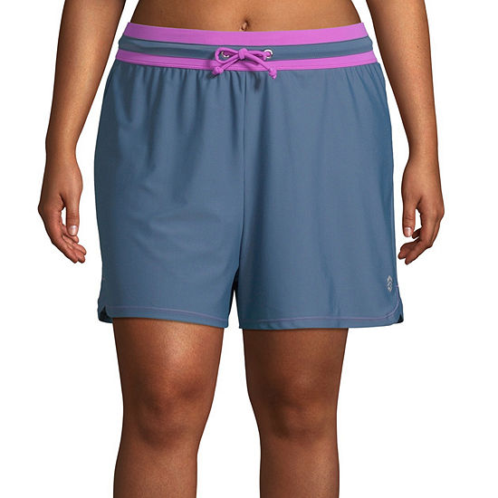 Free Country Swim Shorts Swimsuit Bottom Plus