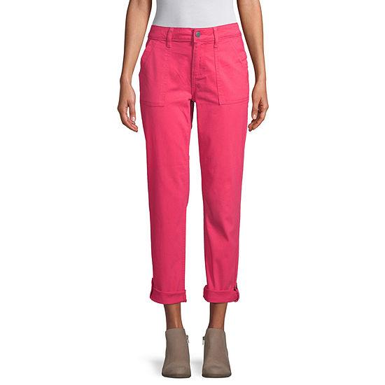 St. John's Bay Womens Flat Front Pant