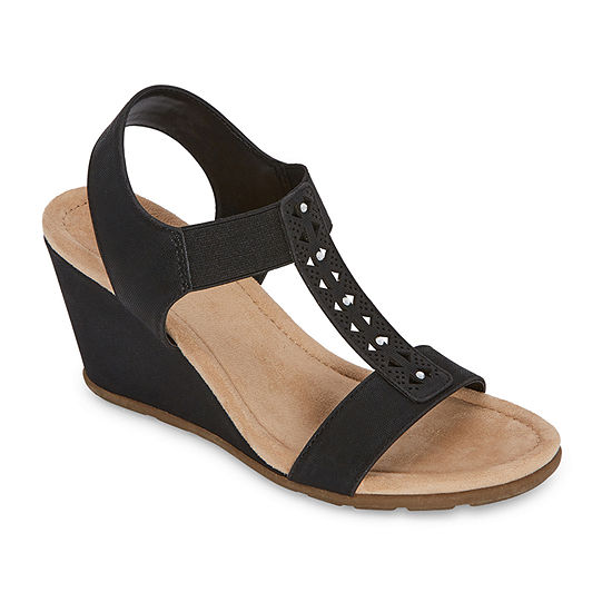 east 5th Womens Lynden Wedge Sandals