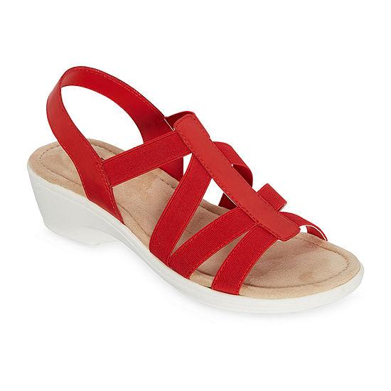east 5th Womens Ichiro Wedge Sandals