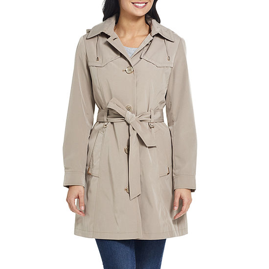 Miss Gallery Water Repellant Lightweight Raincoat
