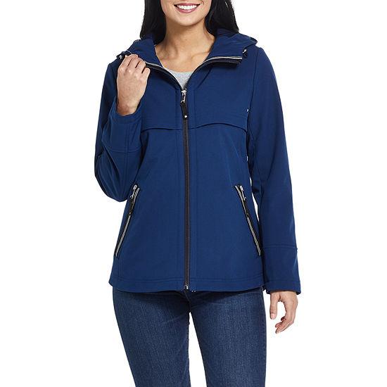 Miss Gallery Water Repellant Lightweight Softshell Jacket