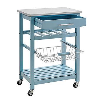 Clarke Kitchen Cart Jcpenney