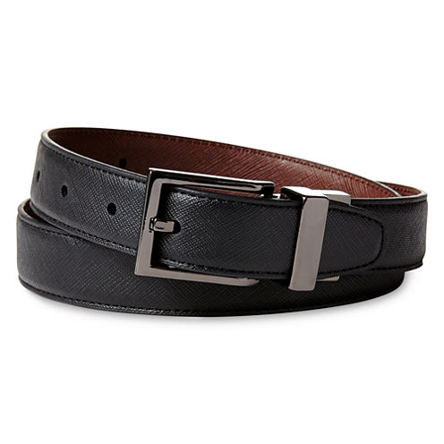 IZOD® Textured Reversible Belt - Boys 8-20