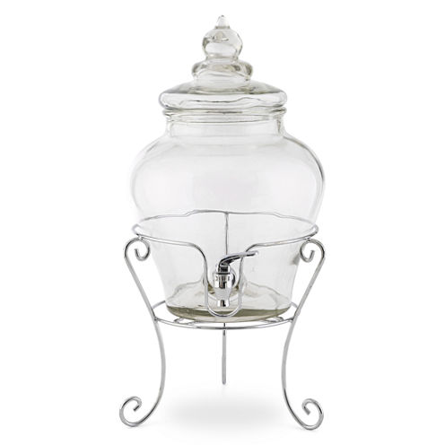 Circleware Portico Beverage Dispenser with Stand