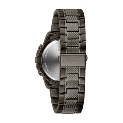 Caravelle New York Mens Gray Bracelet Watch-45a139