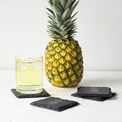 Cathy's Concepts Pineapple 4-pc. Coasters