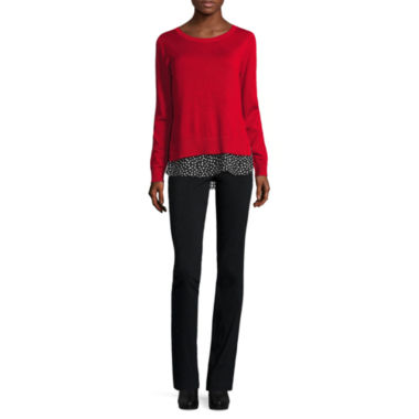 jcpenney.com | Alyx Twofer Sweater or Millennium Slim Pants
