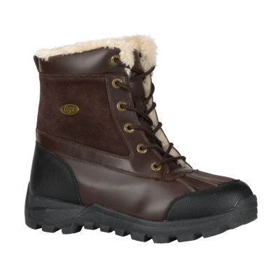 Lugz® Tambora Mens Mid Water-Resistant Work Boots