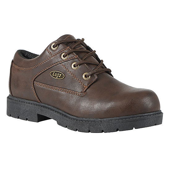 38d41536b7d2 Lugz Mens Savoy Lace Up Slip Resistant Work Boots Lace-up - JCPenney