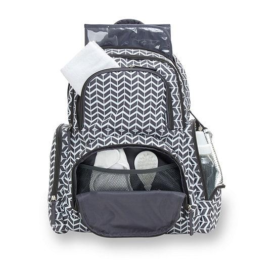 Carter's Herringbone Backpack Diaper Bag
