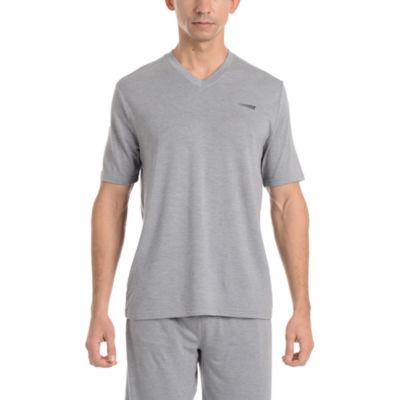 Copper Fit Mens Pajama Top Short Sleeve