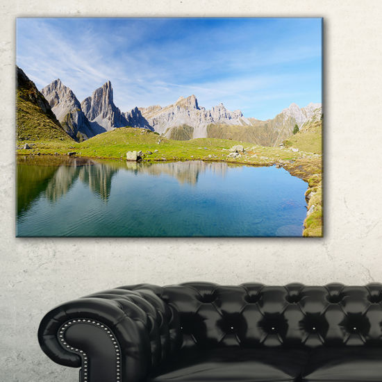 Designart Pyrenee In France Panorama Landscape Artwork Canvas