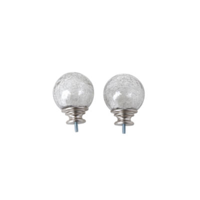 JCPenney Home Mix & Match Crackle Ball 2-pc. Finials