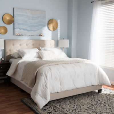 Baxton Studio Cassandra Modern and Contemporary Bed