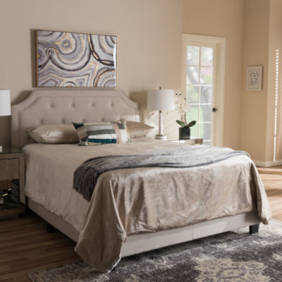 Baxton Studio Willis Modern and Contemporary Bed