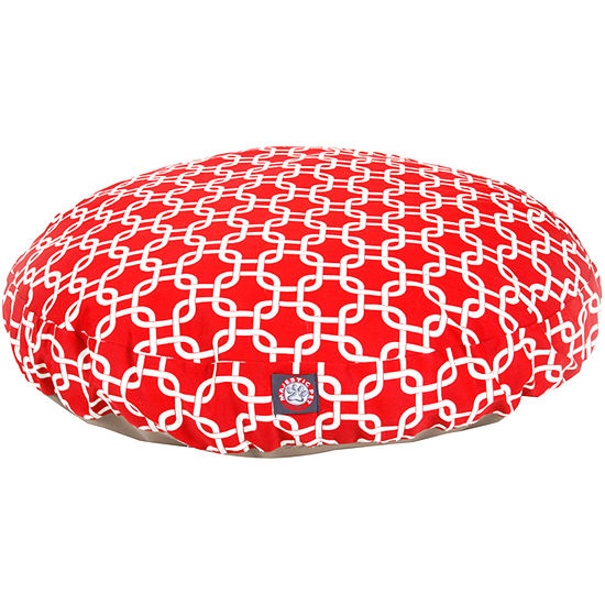 Majestic Pet Links Round Pet Bed