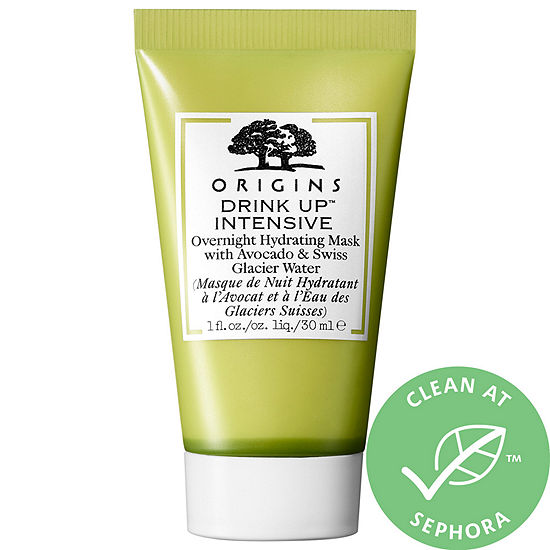 Origins Drink Up™ Intensive Overnight Hydrating Mask with Avocado & Swiss Glacier Water Mini